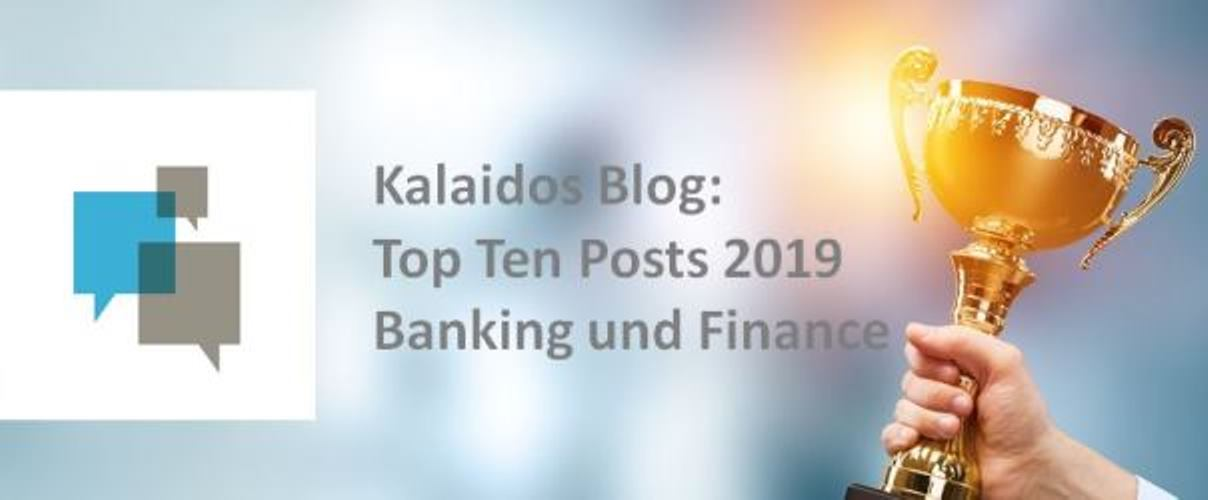 Top Ten Banking und Finance Posts Kalaidos Blog 2019