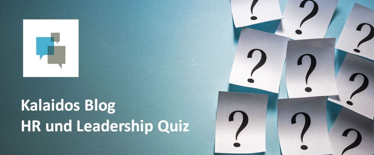 Kalaidos Blog Quiz: HR und Leadership