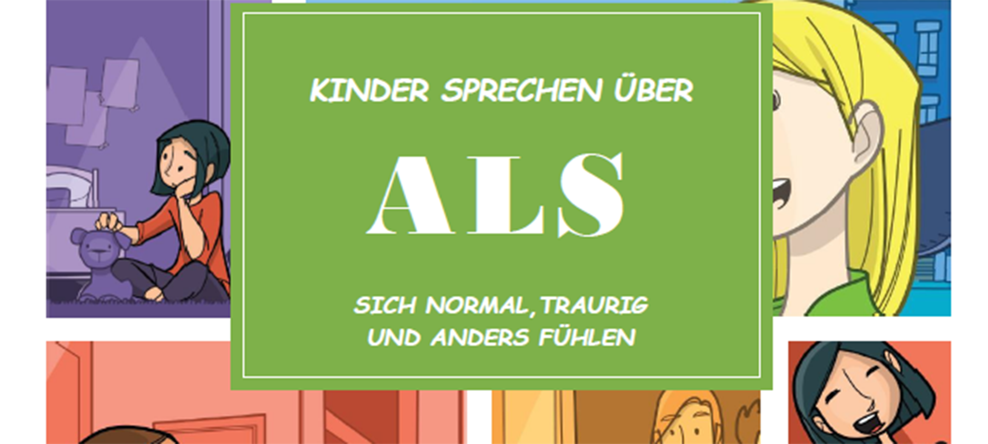 Comic Young Carers Verein ALS