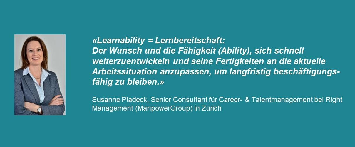 Susanne Pladeck zur Definition von Learnability